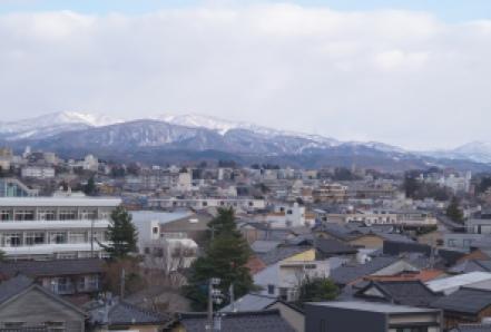 That's the place I moved to: Kanazawa, Ishikawa Prefecture, Japanese West Coast