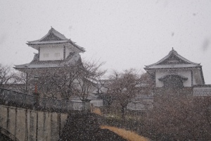 The Kanazawa Castle (金沢城 ) which was built in the 16th century is an impressive historical heritage in Kanazawa...