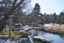 ... just like the Kenrokuen (兼六園) which was one of my favourite places to go